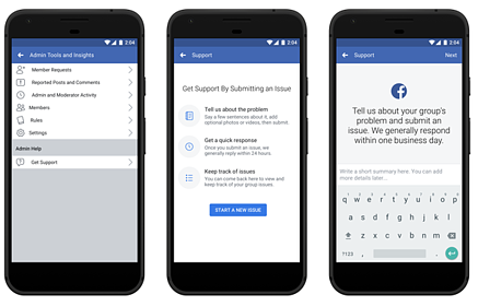 Facebook Launches New Tools for Groups