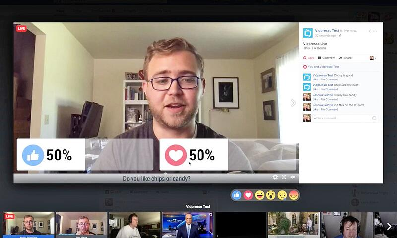 Facebook buys vidpresso to make Fb live video more interactive