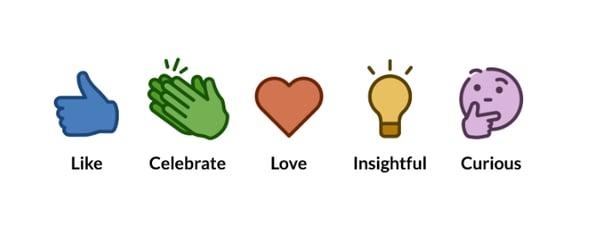 LinkedIn Emotional Reactions